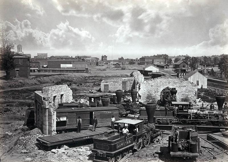 Atlanta Rundhouse Ruin -1866-1-800